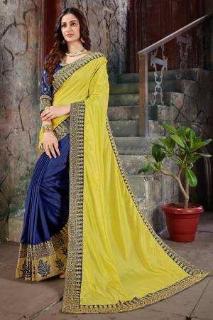 Yellow Art Silk ...