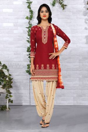 69b5b1709b Maroon Suits - Shop For Maroon Salwar Suit Online at Craftsvilla
