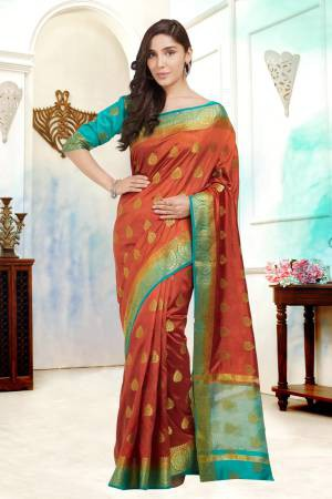 Brown Color Silk ...