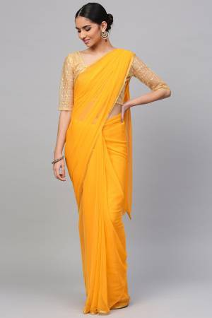Yellow Georgette ...