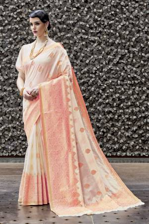 de8f202709 Peach Color Saree - Buy Peach Color Sarees Online | Craftsvilla
