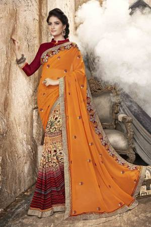 1bcdd82ff1 Yellow Sarees - Buy Yellow Saree Online at Best Price In India on ...