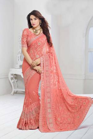 b458901fe0454f Chiffon Sarees - Buy Chiffon Sarees For Women Online at Craftsvilla