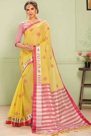 3d7f953aa6 Cotton Saree - Buy Designer Cotton Sarees Online | Craftsvilla