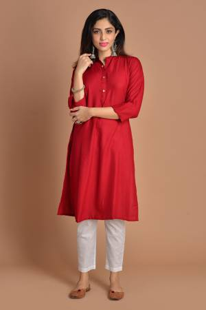 Red Cotton Plain ...