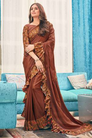 Brown Silk ...