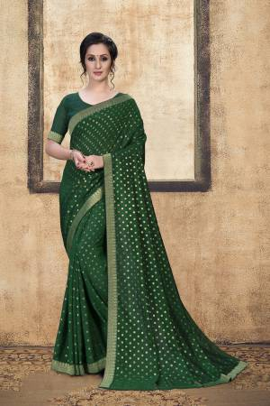 Green Art Silk ...