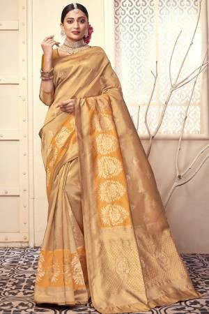 Yellow Kota Silk ...