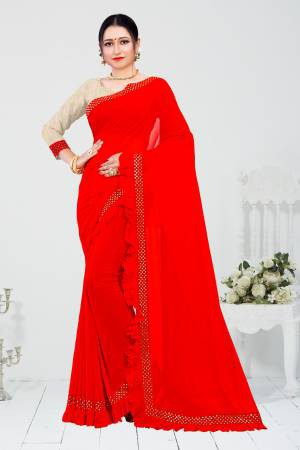 Red Polyester ...