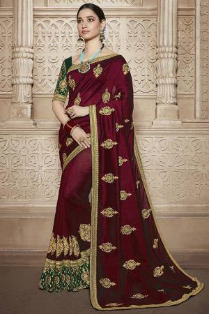 Red Matka Silk ...