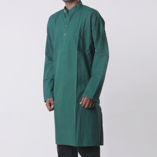 Bottle-green Kurta