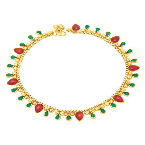 Craftsvilla Alluring Gold Plated Anklet For Women