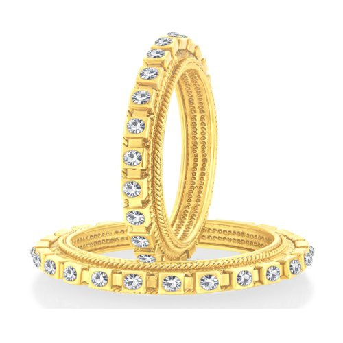 Craftsvilla Charming Gold Plated Bangle