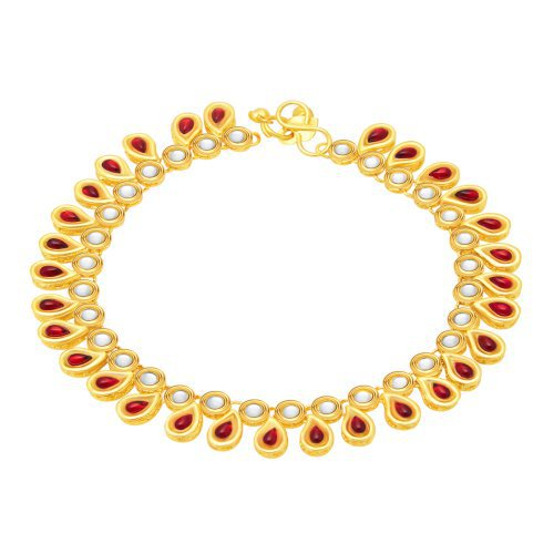 Craftsvilla Ravishing Gold Plated Anklet