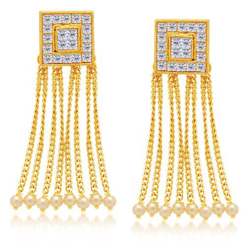 Craftsvilla Elegant Gold Plated Earring