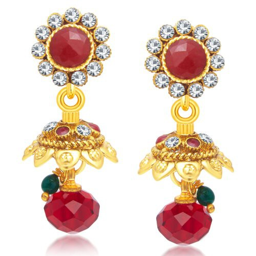 Craftsvilla Pleasing Gold Plated Jhumki Earring