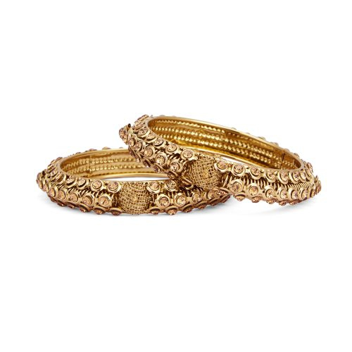 Craftsvilla Fancy Gold Plated Ad Bangle