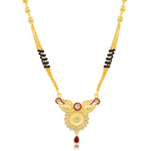 Craftsvilla Incredible Gold Plated Ad Mangalsutra