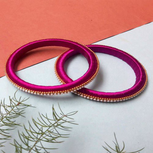 Craftsvilla Thread Designer Antique Hand Crafted Bangles