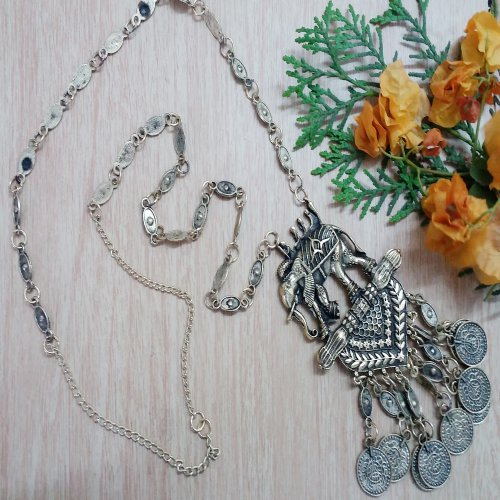 Craftsvilla Stylish Elephant Shaped Bahubali Design Necklace