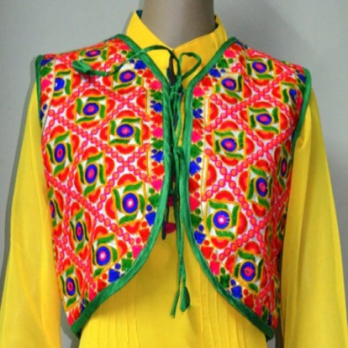 bb7505e81a1a6 Buy Multi Coloured Kutch Embroidered Koti Online