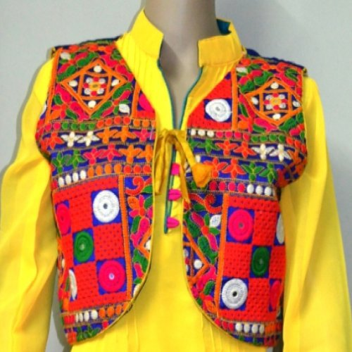 e08756a019e8d Buy Multi Coloured Kutch Embroidered Koti over Jacket Online ...