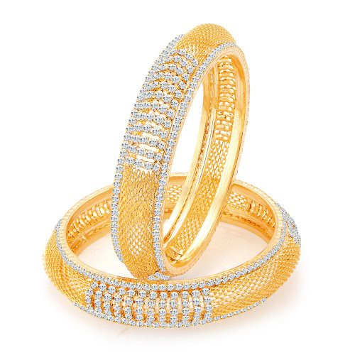 Craftsvilla Modish Gold Plated Ad Bangles
