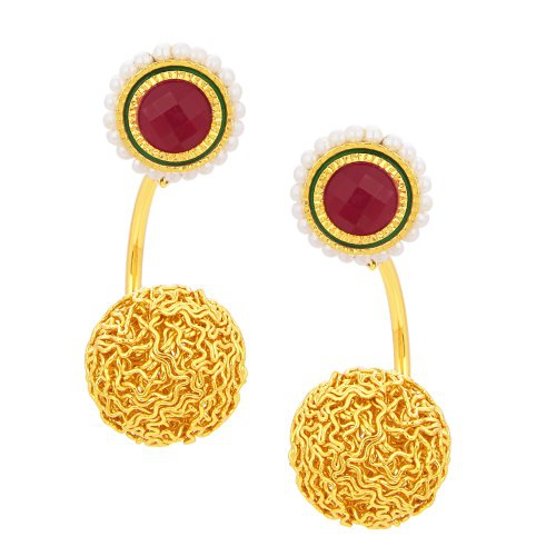 Craftsvilla Intricately Gold Plated Earring