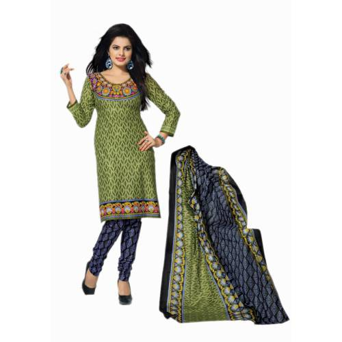 6a8e61d6e7 Unstitched Printed Pure Cotton Designer Ladies Salwar Suit Dress Material  With Cotton Dupatta - Dress Material