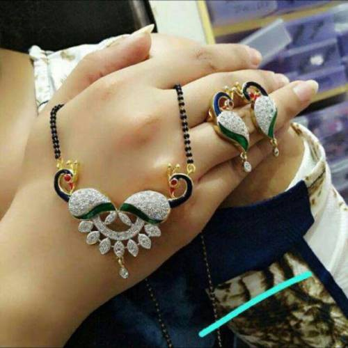 Peacock Mangalsutra For Womens