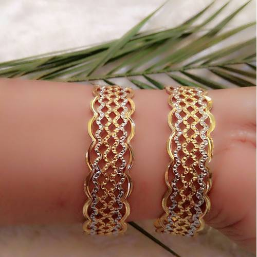 South Indian Traditional Jewellery Malti Tone Design Bangles 2.4