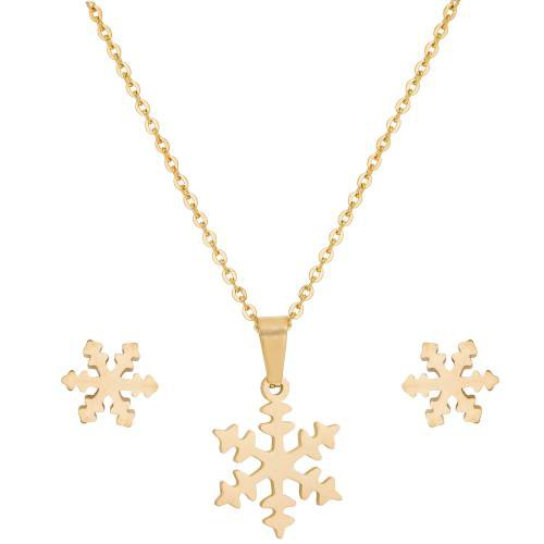 Craftsvilla Gold Plated Alloy Metal Pendant Set With Chain