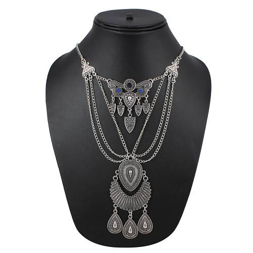 Craftsvilla Silver Plated Fashion Hand Crafted Necklace