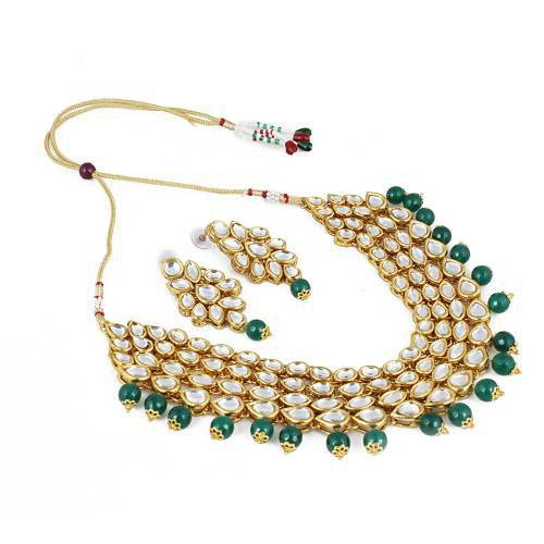 Gold Plated Traditional Necklace Set