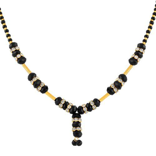 Gold Plated Brass Designer Mangalsutra