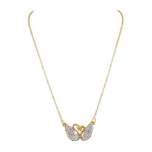 Gold Plated Alloy Metal Designer Pendant With Chain