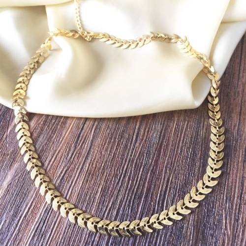 Craftsvilla Gold Plated Brass Hand Crafted Necklace
