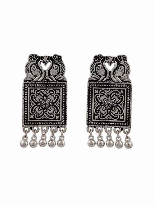 Unique Designer Party Wear Jewelry Traditional Oxidized Earrings