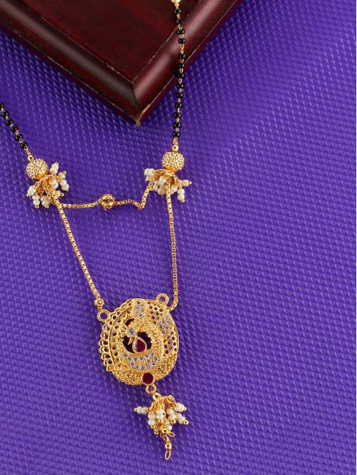 Alloy Gold Plated Mangalsutra