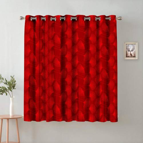 5 Ft. Satin Digital Print Window Curtain(pack Of 1)