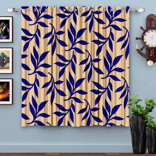5 Ft. Polyester Knitted Curtain(pack Of 1)