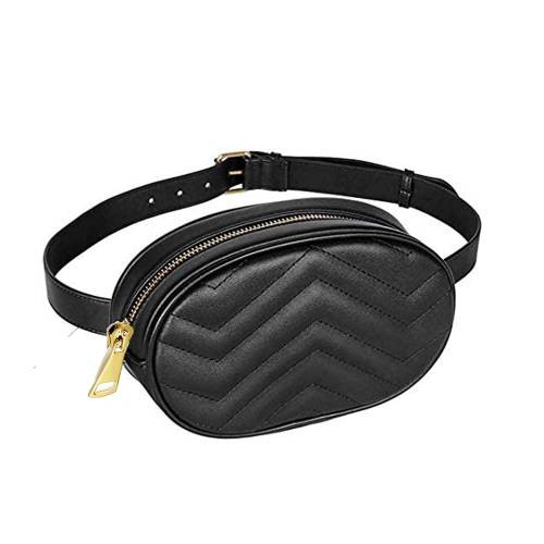 Black Leather Hand Crafted Sling Bag