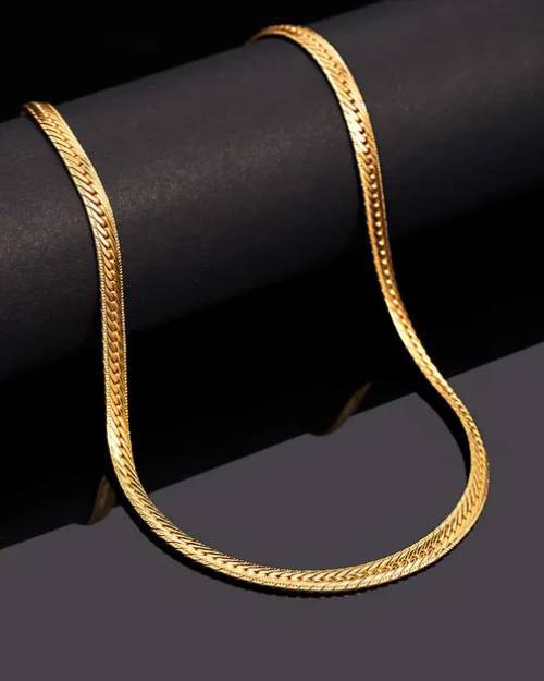 Designer Durable Gold Plated Chain